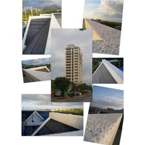 興格建設甜水郡名人賞第二期屋頂造型抿石