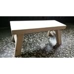 松木榫接板凳訂製款