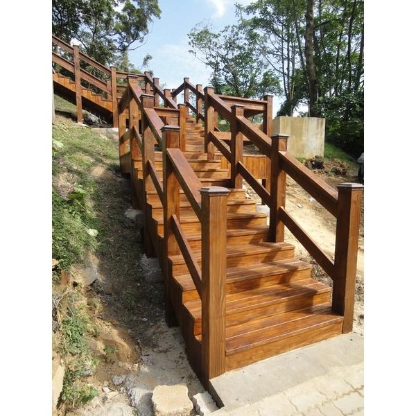大清水階梯欄杆