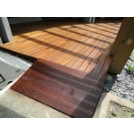 金檀木、鐵木平台、無障礙坡道