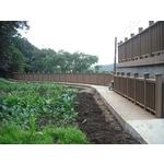 塑木棧道、欄杆