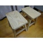 客製化檜木板凳