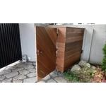 鋼構景觀木圍籬