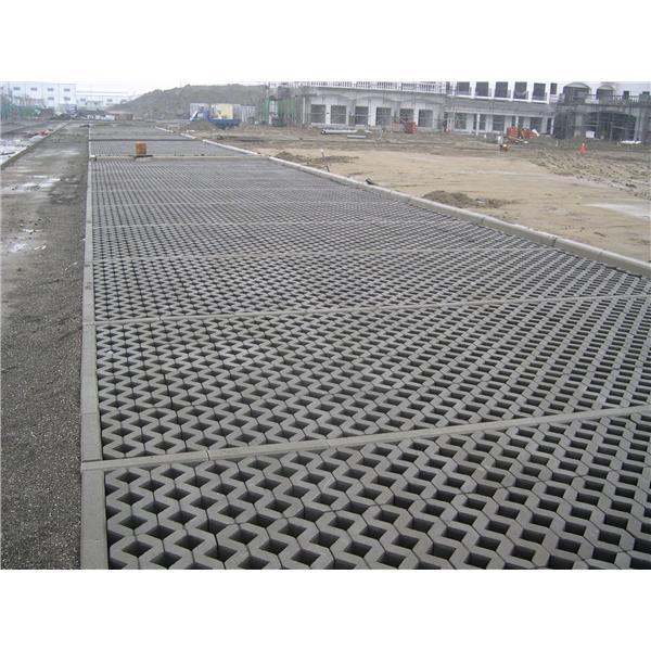 植草磚鋪設-柳營科工區停車場-宏遠興業股份有限公司-台南