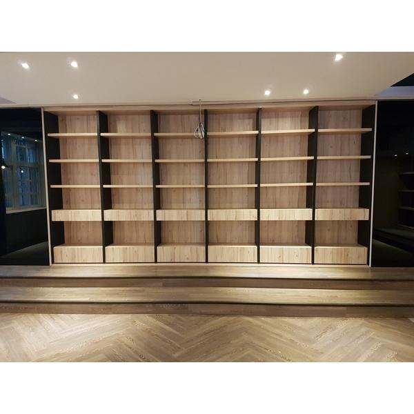 圖書館空間改造工程-匯築室內裝修工程企業社-台中