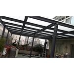 H型鋁鋼構玻璃屋1