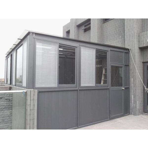 鋁鋼構玻璃屋-昇順工程行-新北
