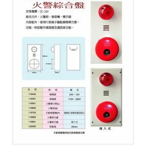 火警綜合盤-世勝防災設備工程有限公司-台南