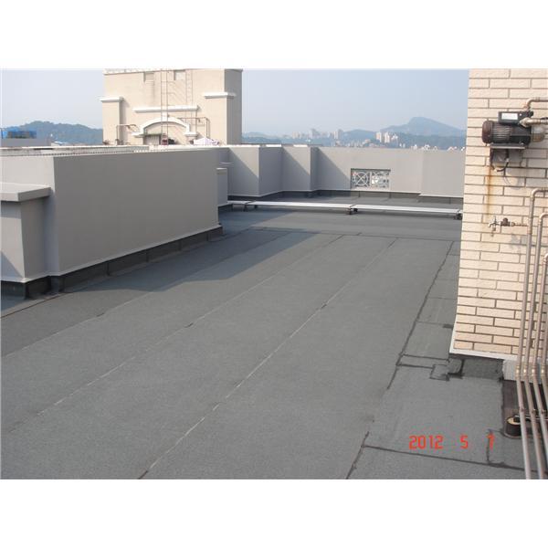 屋頂防水毯施作完成-安雅順實業有限公司-新北