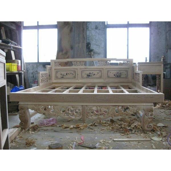 木作復古床桌