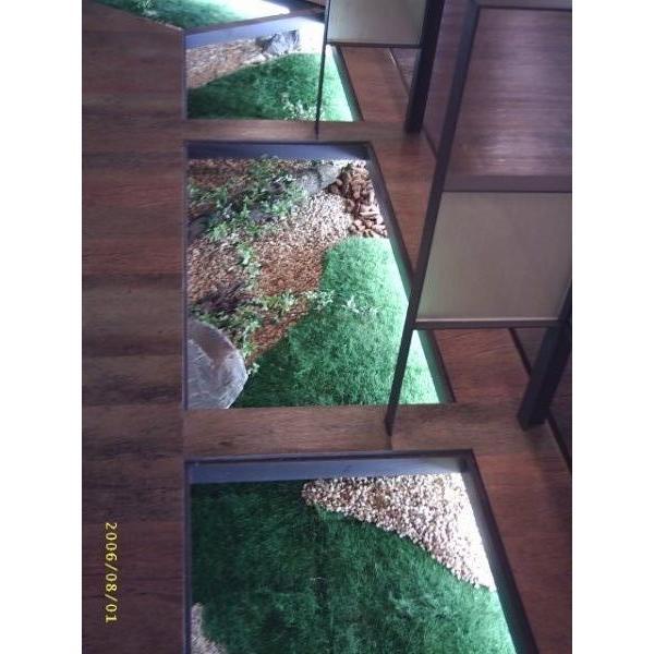 地板人工植栽裝飾