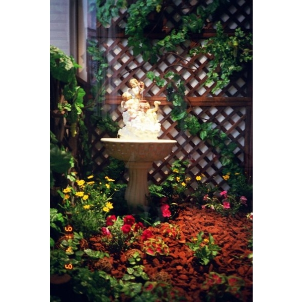 景觀-玄關人工植栽裝飾-柏澄園藝景觀養護工程公司-新北