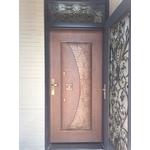 開天玻纖銅雕門