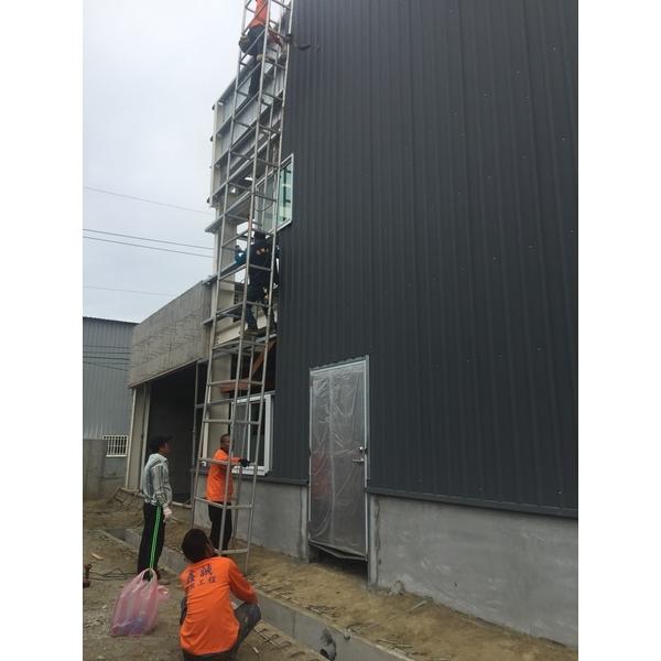 鋼板-施工前1-鑫誠鋼板材料行-台南