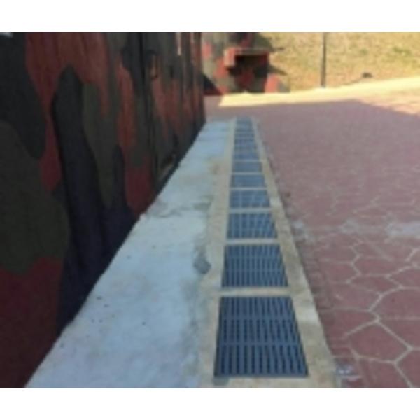 金門縣烈嶼鄉公所無障礙彩妝防滑水溝蓋