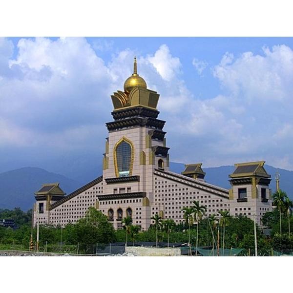 中台禪寺無障礙彩妝防滑水溝蓋