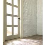 典雅舒適的白色文化磚,輕裝潢 輕改造,無須泥做,乾淨施工