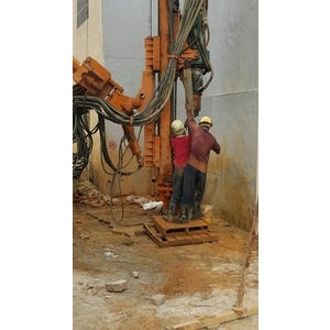 楊梅營造蓋大樓排樁