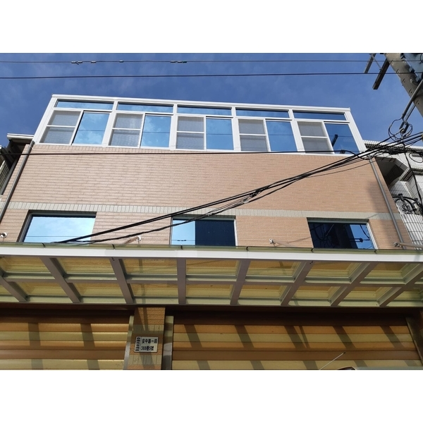 玻璃採光罩-永順鋁門窗-台南