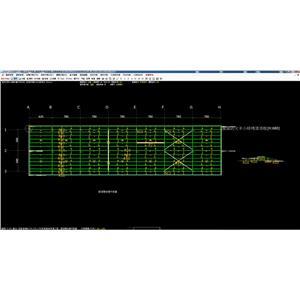 鋼構平面圖-04-全泰資訊有限公司-台南
