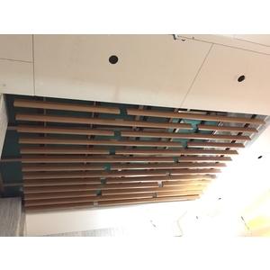 公共區域採光罩施作&鋁板格柵天花