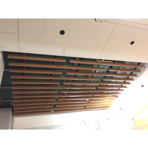 公共區域採光罩施作&鋁板格柵天花-精瑑裝潢工程行-新北