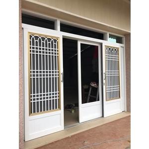 落地玻璃門-鼎發鋁門窗-台南
