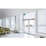 90°防風型電動門弓器-諾司實業股份有限公司-無塵室內裝隔間,庫板隔間,無塵室高架地板