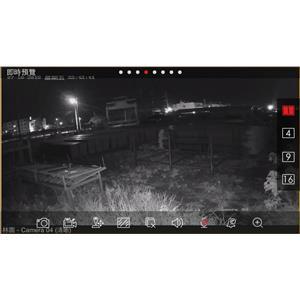 百萬畫素攝影機室外夜間(無燈光)畫質