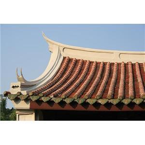 屋頂-筒瓦勾頭滴水