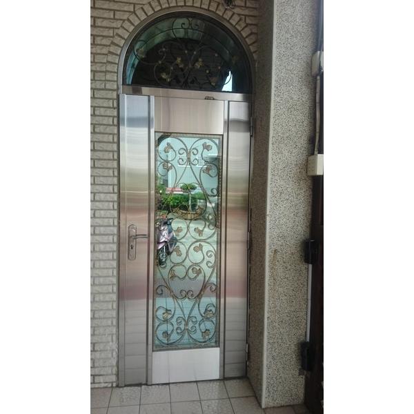 ST白鐵玻璃門-承品工程行-台中