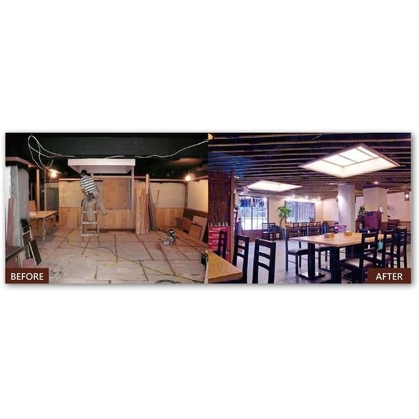裝修完工對比-馬可空間工房-新竹