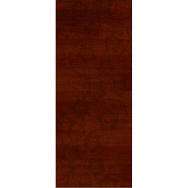 極緻系列-UV彩繪仿木工藝門系列-櫻桃木色