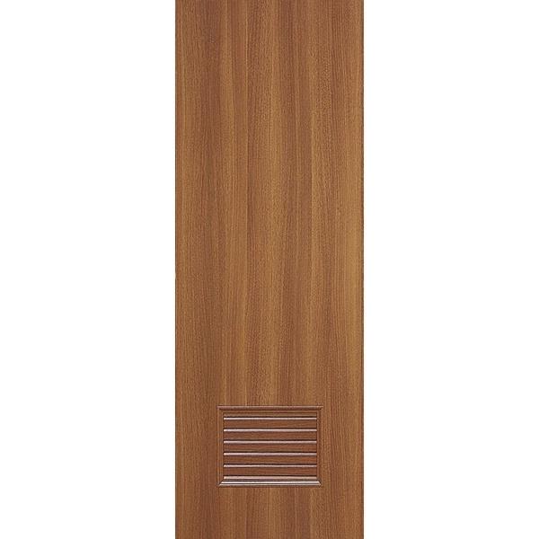 極臻系列-貼皮仿木工藝門-柚木色