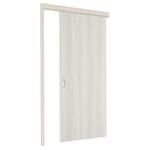 極臻系列-貼皮仿木工藝門-白橡木色