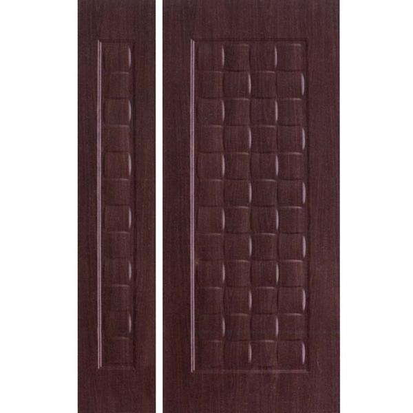 鍍鋅壓花板-08(黑木)