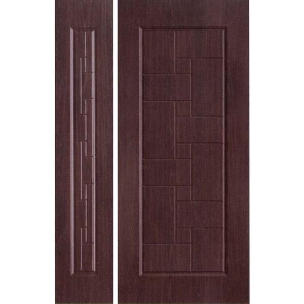 鍍鋅壓花板-09(黑木)