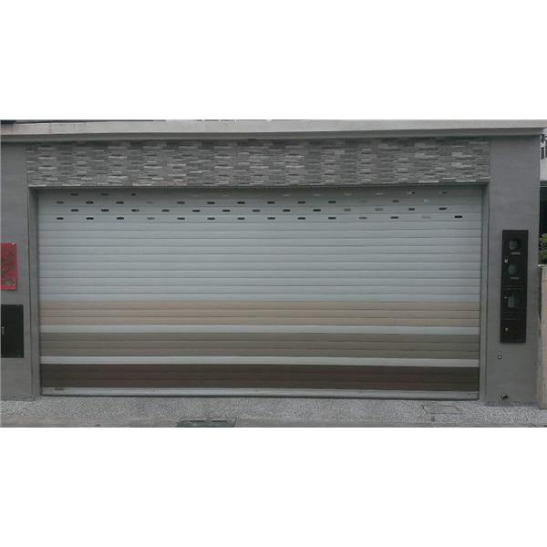 701-702 單雙層鋁合金快速捲門 加裝雙層T型高抗風底座
