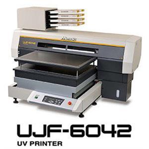 桌上型LED方式UV硬化平面噴墨印刷機