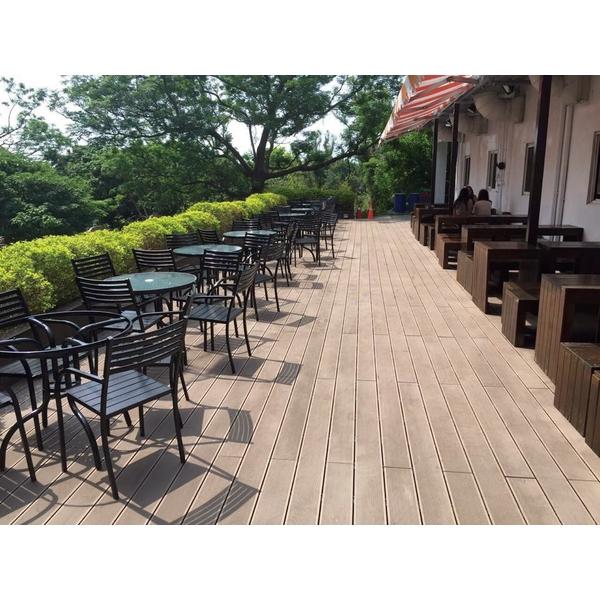 HDPE塑木空心塑木地板