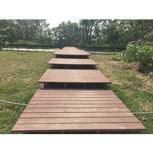 HDPE塑木實心塑木地板