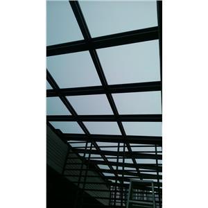 採光罩+防盜窗-弘大鋼鋁門窗-台南