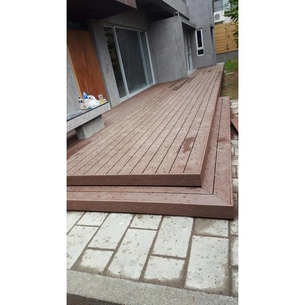 塑木平台階梯-禾景建材有限公司-高雄