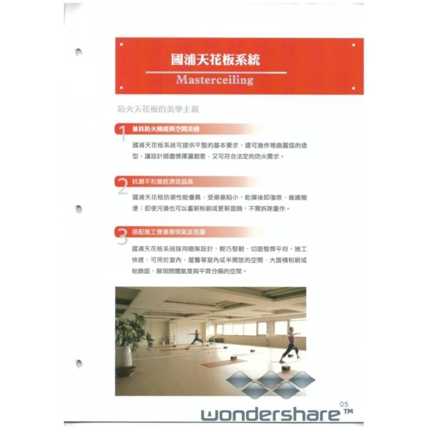 國浦天花板系統