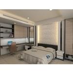 室內臥室裝潢 3D圖-室內設計裝修工程統包,商業空間規劃,系統傢俱,園藝造景-生雅室內裝修企業社