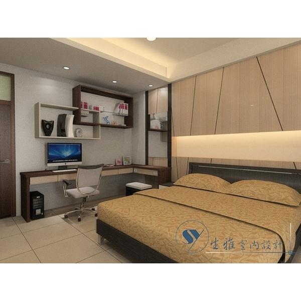 室內臥室裝潢 3D圖