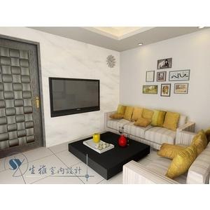 客廳裝潢3D圖-生雅室內裝修企業社-彰化