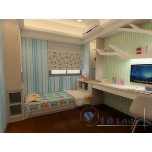 兒童房3D圖