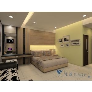 臥室裝潢3D圖