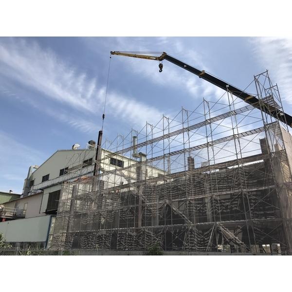 鋼構吊掛施工-原慶企業社-新竹
